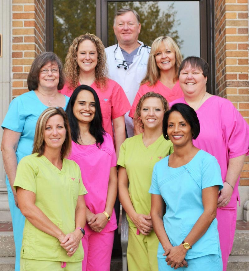 Dr. Frederick D. Thurston and Staff at Thurston Comprehensive Dental Center, Inc. in Auburndale, FL